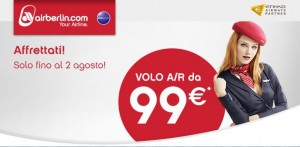 voli air berlin per austria e germania