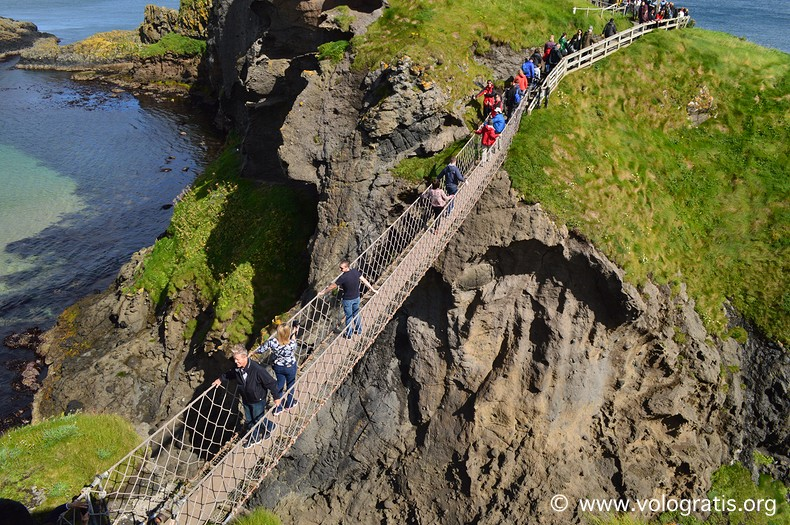 Carrick-a-rede rope bridge 4 diario di viaggio causeway coastal route