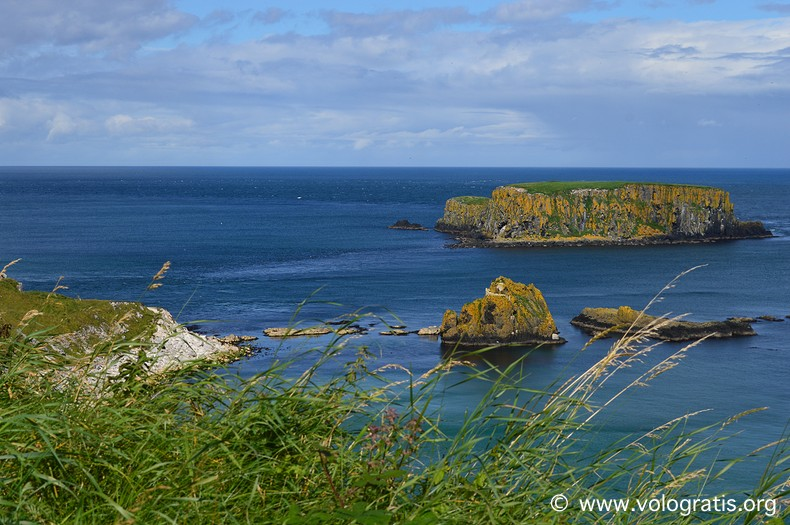 Carrick-a-rede rope bridge diario di viaggio causeway coastal route