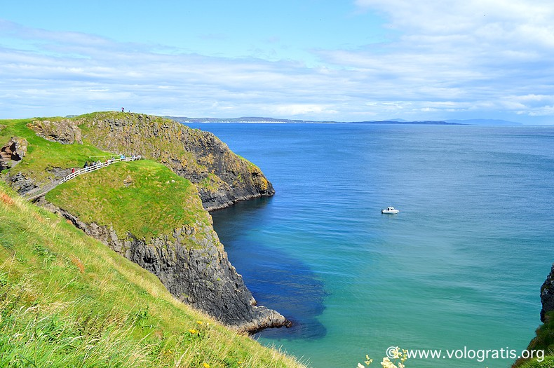 Carrick island diario di viaggio causeway coastal route