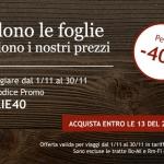 Codice sconto del 40% per i treni Italo