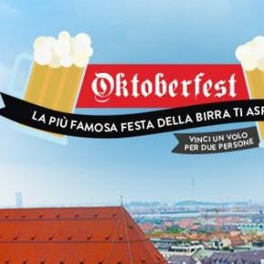 concorso per vincere voli per monaco di baviera durante l'oktoberfest