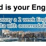 Concorso per vincere un viaggio studio a Malta