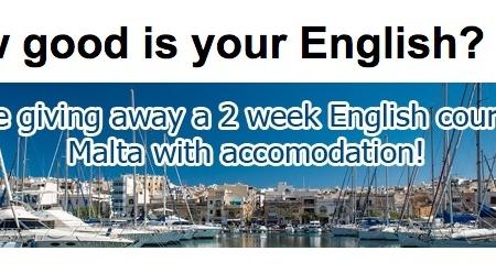 concoso per vincere un viaggio studio a malta