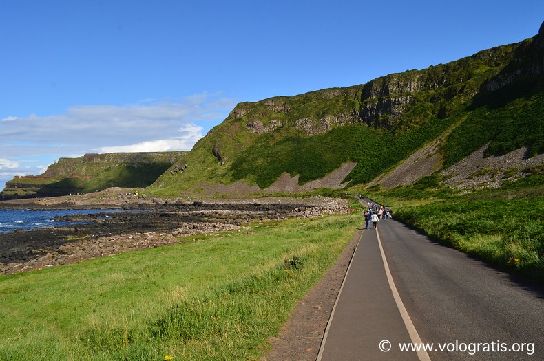 giant's causeway diario di viaggio causeway coastal route 2