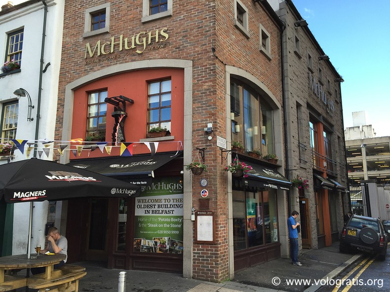 mchughs diario di viaggio a belfast