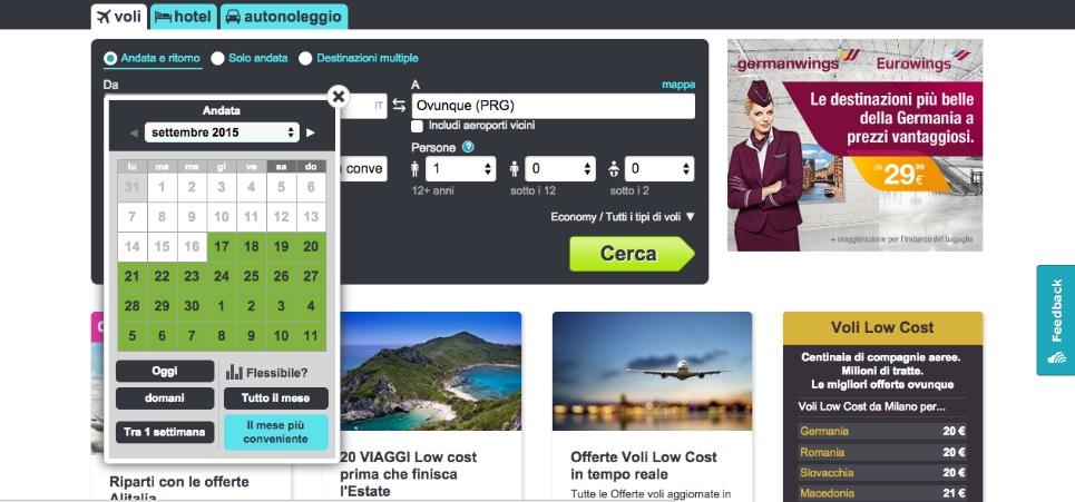 come cercare i voli piu economici skyscanner 4