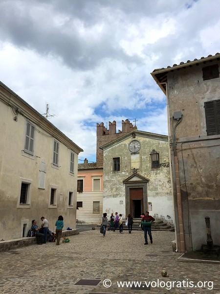 chiesa calcata