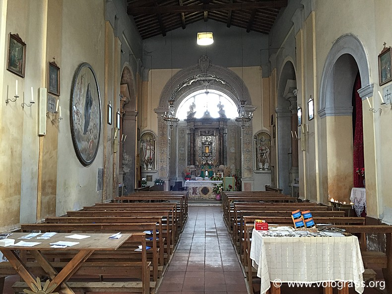 chiesa di calcata