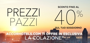 hotel accor scontati