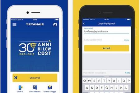 nuova app ryanair