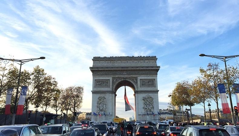 diario di viaggio parigi