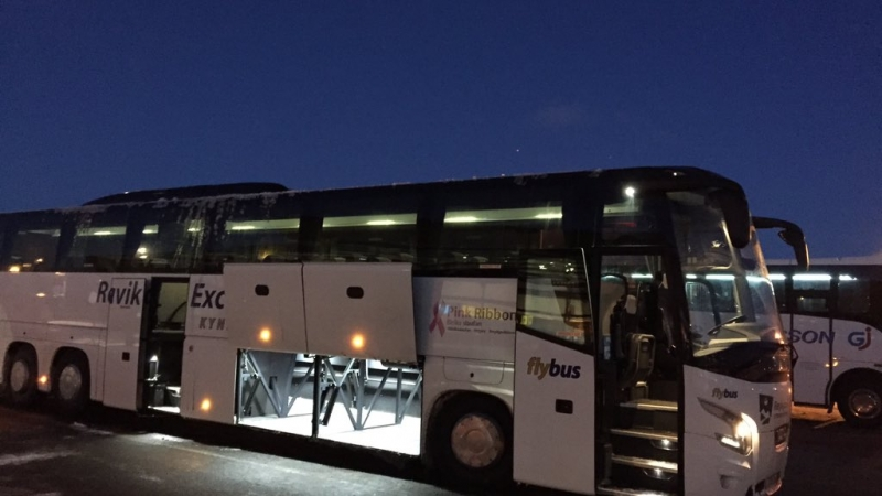 raggiungere reykjavid dall'aeroporto di keflavik