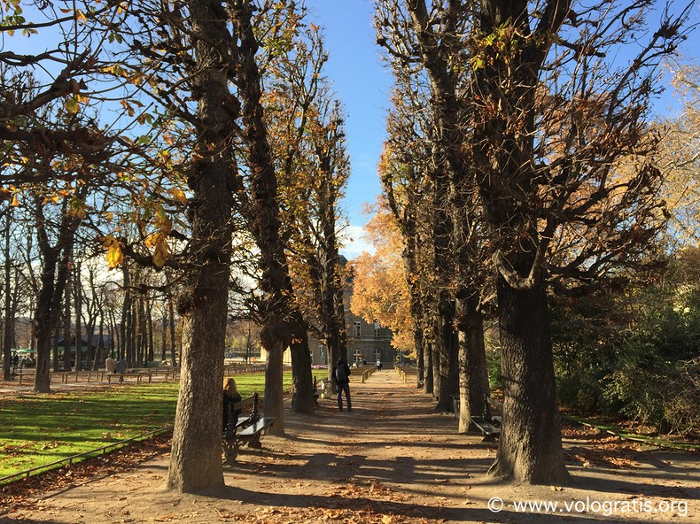 jardin du luxembourg parigi