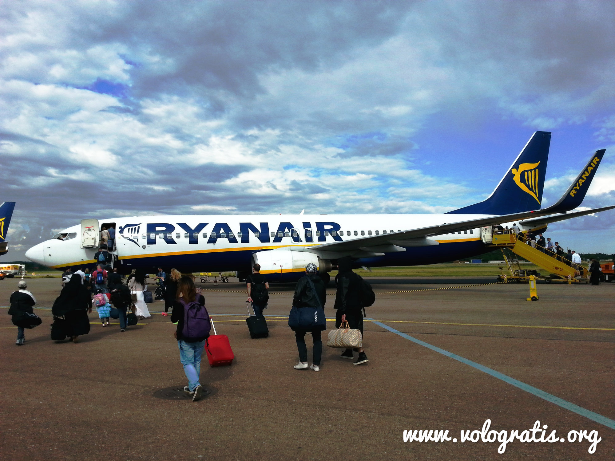 Voli Ryanair scontati del 20% e a partire da € 7,99