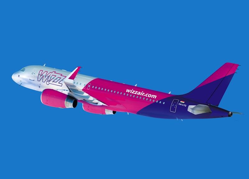 Wizz Air: fino a mezzanotte voli scontati del 20%