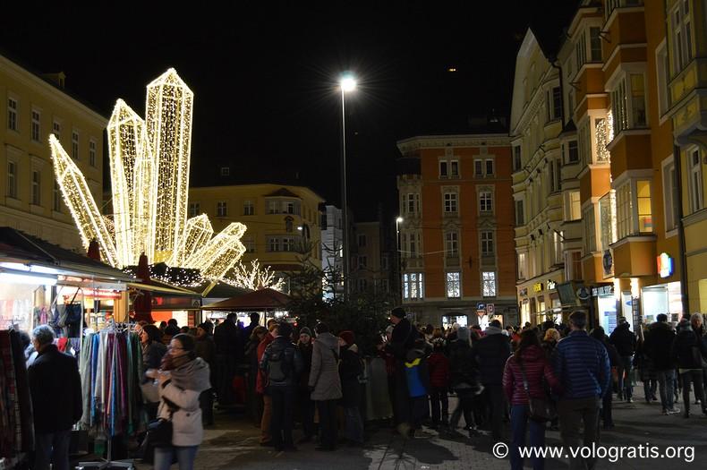 christkindlmarkt Maria-Theresien-Straße innsbruck