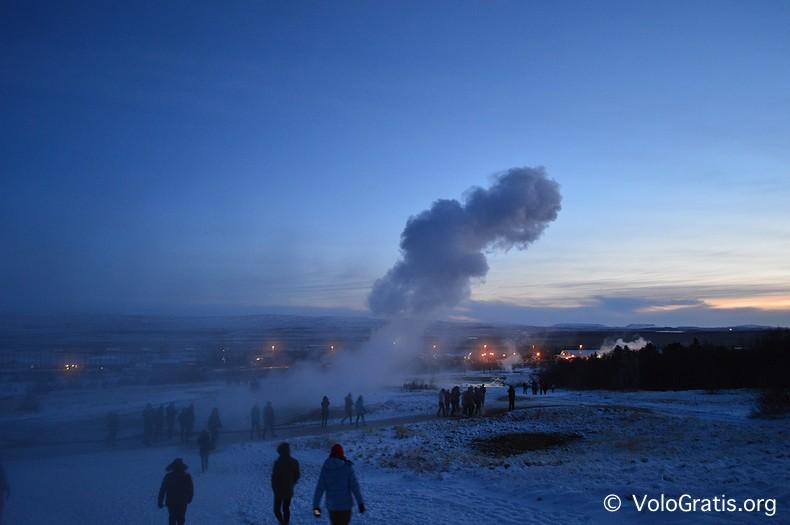 foto islanda geyser