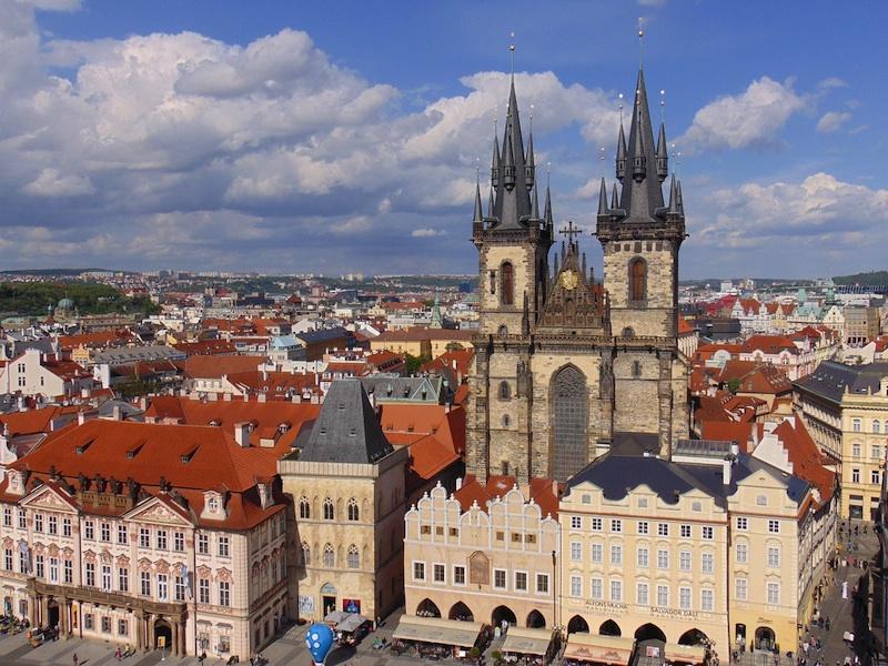 In partenza per Praga