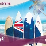 Qatar Airways: voli per l'Australia in promozione