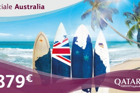 voli per l'australia qatar airways