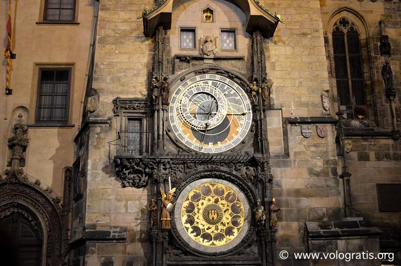diario di viaggio praga orologio astronomico