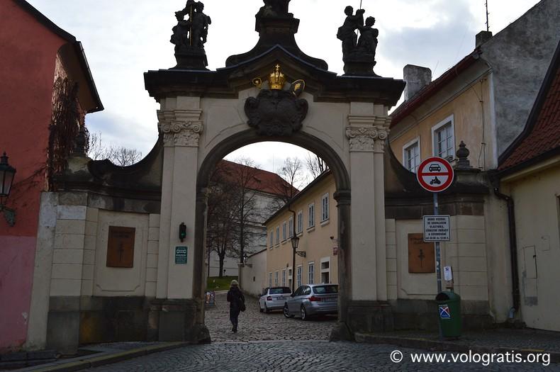 viaggio praga monastero di strahov