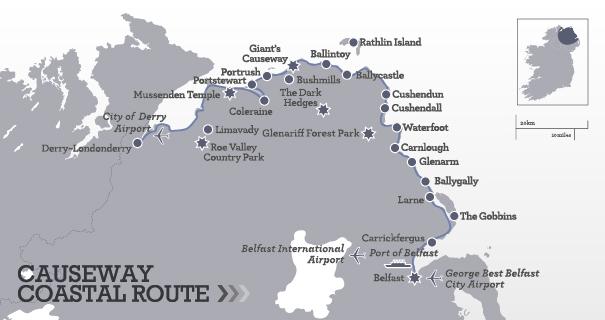causeway coastal route irlanda