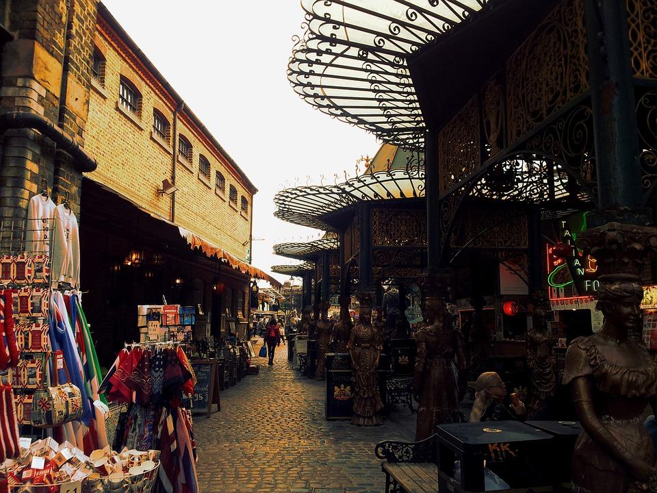 mercatini di londra camden