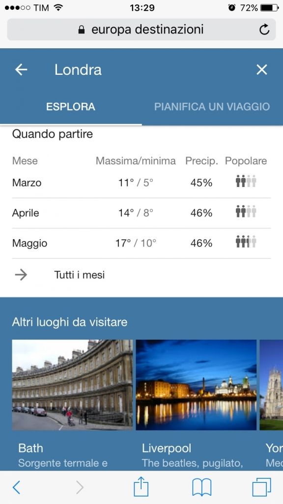 come funziona google destinations
