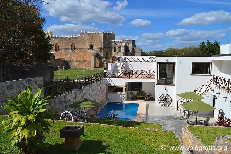 diario di viaggio yucatan izamal riconada del convento