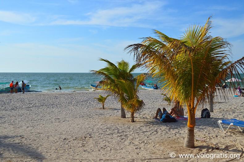 diario di viaggio yucatan mare celestun