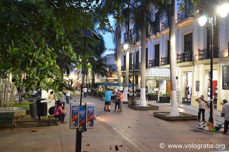diario di viaggio yucatan merida notte