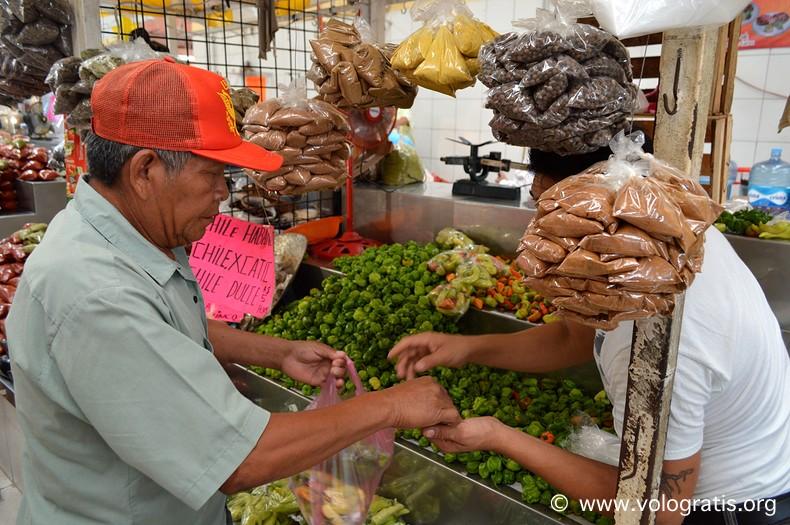 diario di viaggio yucatan messico mercato merida 4