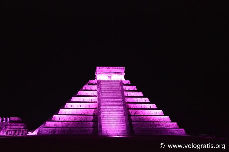 diario di viaggio yucatan notte di kukulkan