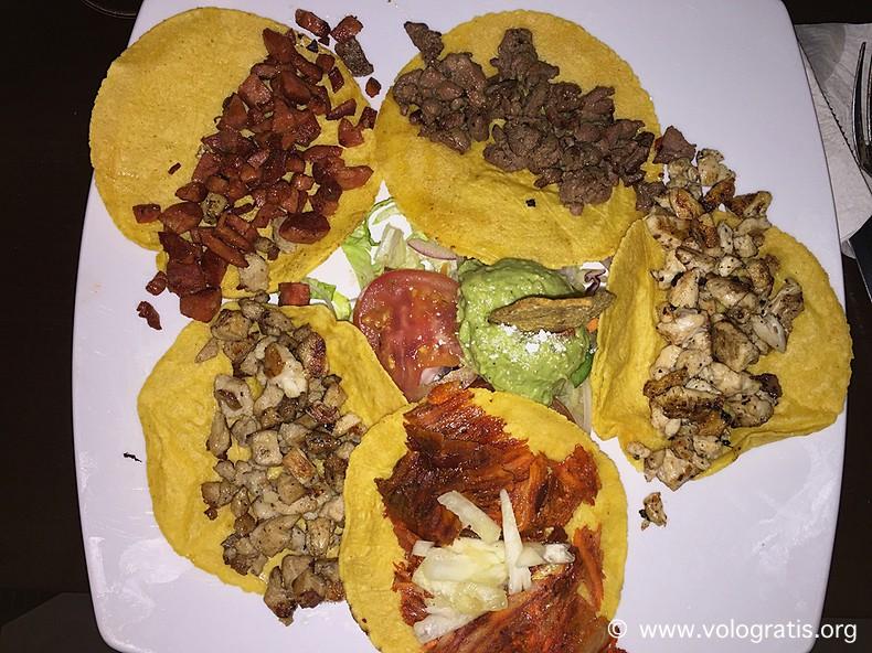diario di viaggio yucatan tacos