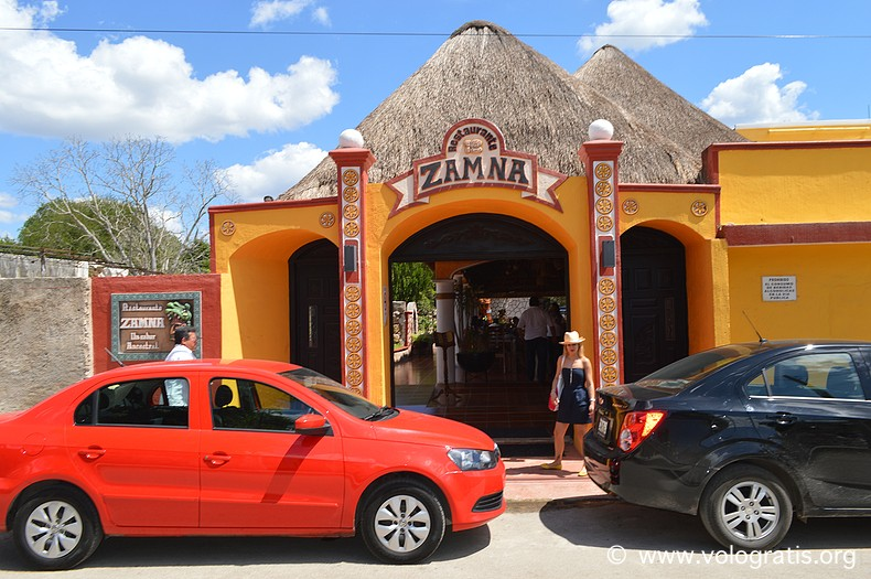 diario di viaggio yucatan zamna