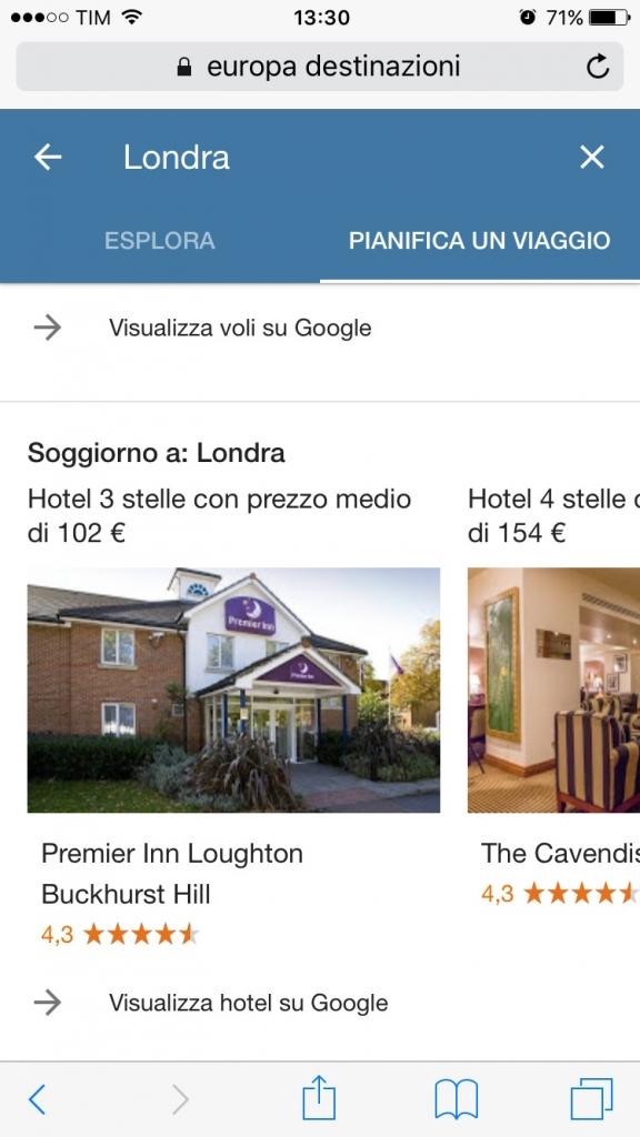 google destinazioni come funziona