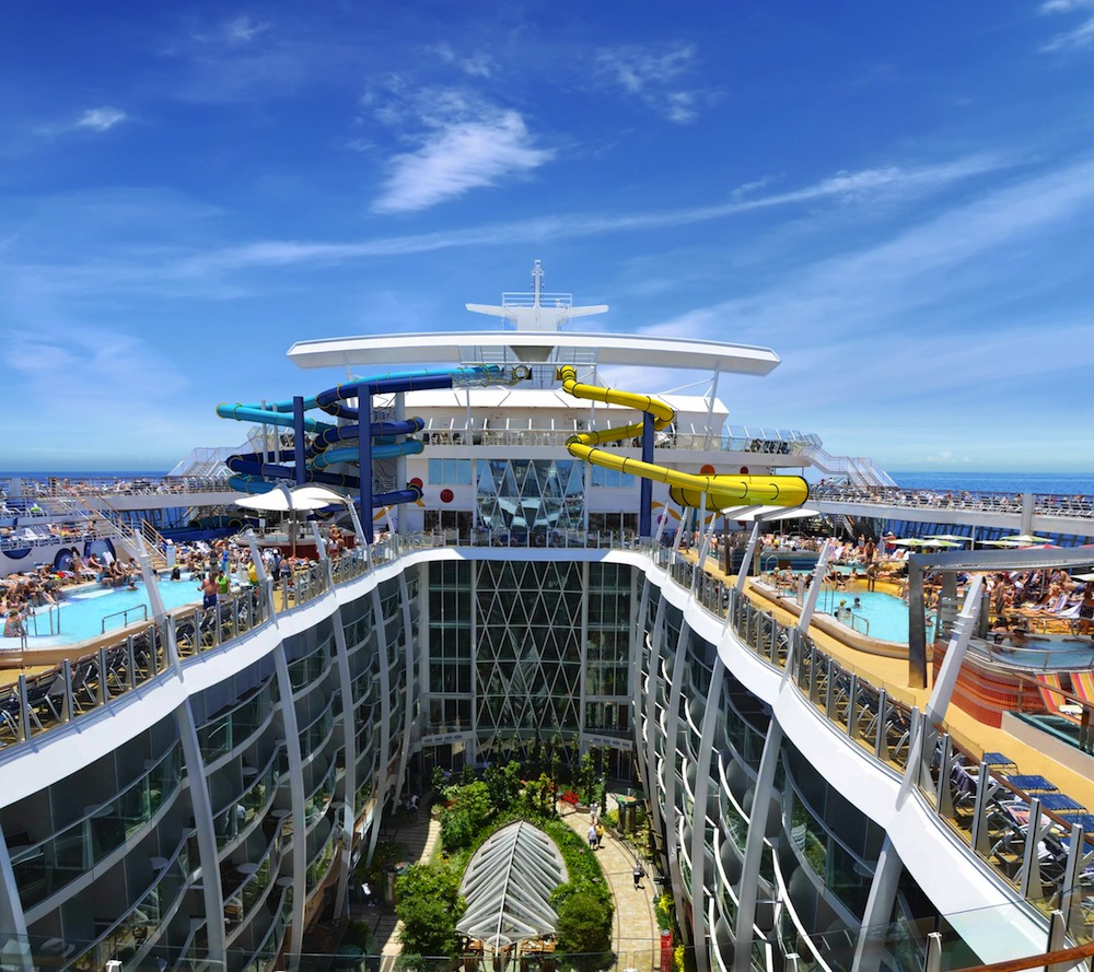 harmony of the seas - nave da crociere piu grande del mondo Central Park
