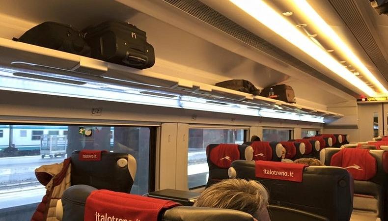 viaggiare con italo treno