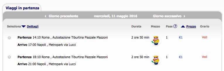 biglietti megabus da 1 euro low cost