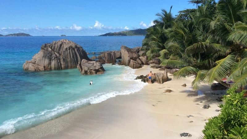 partenza per le seychelles