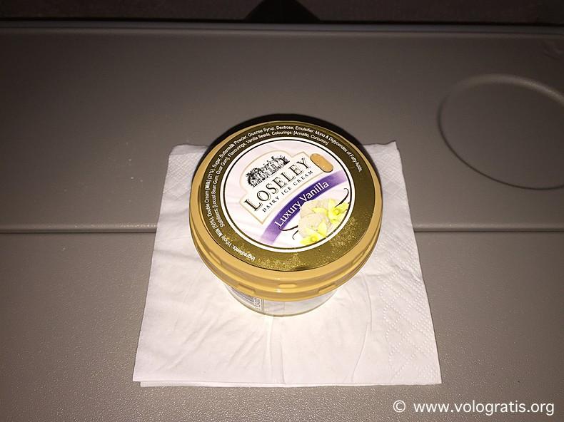 gelato su a380 emirates