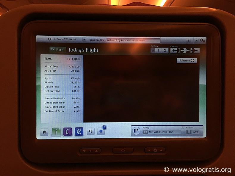 info voli a380 emirates