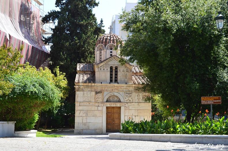 foto atene chiesa plaka