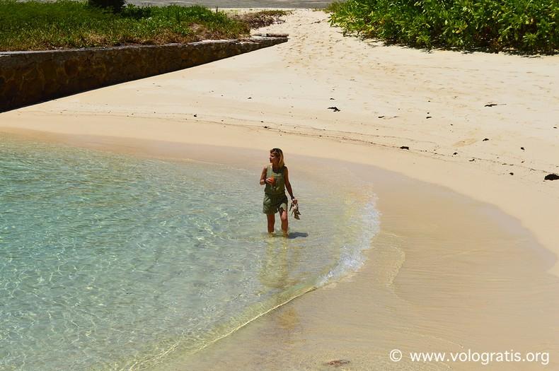 valentina vologratis viaggio alle seychelles