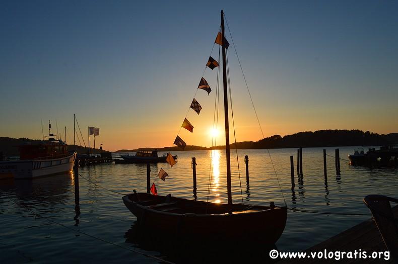 foto fjallbacka tramonto