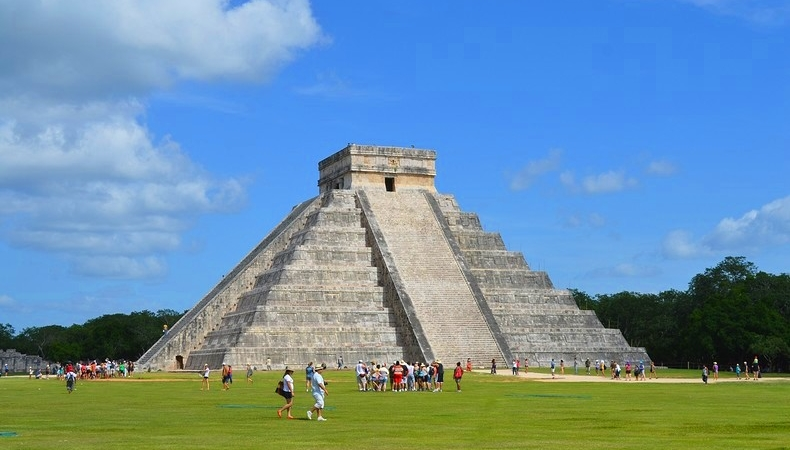 foto messico piramide chichen itza