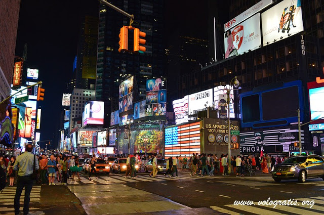 Foto new york notte