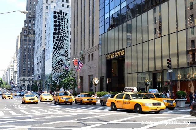 fotografia new york quinta strada